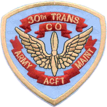 30th Aviation Transportation Company ACFT Maintenance Patch