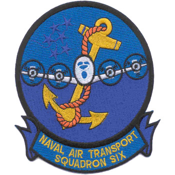 VR-6 Patch Air Transport Squadron Six