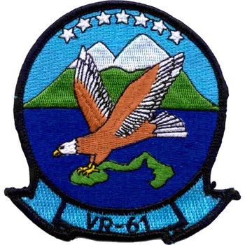VR-61 Air Fleet Logistics Support Squadron Sixty One Patch