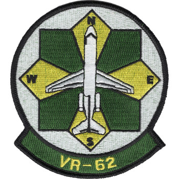 VR-62 Fleet Logistics Support Squadron Patch