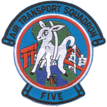 VR-5 Patch Air Transport Squadron Five