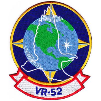 VR-52 Fleet Logistics Support Squadron Patch Hook And Loop