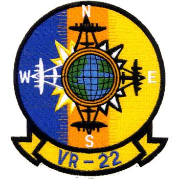 VR-22 Air Transportation Squadron Twenty Two Patch
