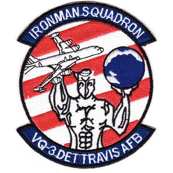 VQ-3 DET Travis AFB Patch