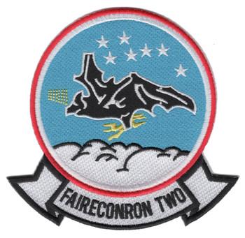 VQ-2 Aviation Air Reconnaissance Squadron Two Patch-Bat