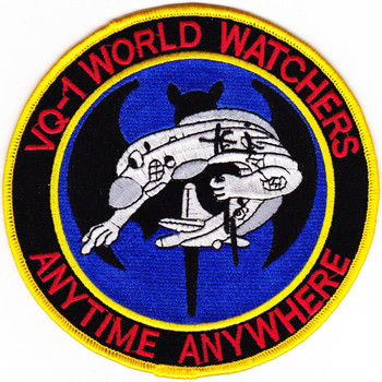 VQ-1 Patch World Watchers Anytime Anywhere