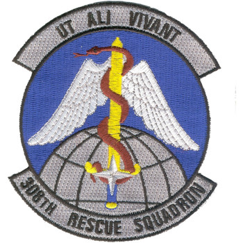308th Rescue Squadron Patch