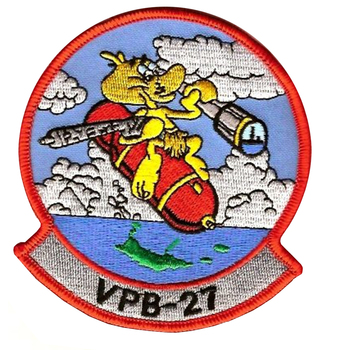 VPB-27 Aviation Patrol Bomber Squadron Patch