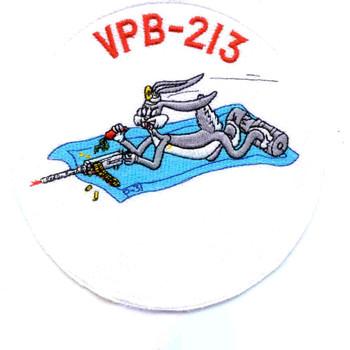 VPB-213 Patrol Bombing Squadron Two Hundred Thirteen Patch