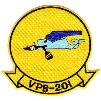 VPB-201 Aviation Patrol Bombing Squadron Patch