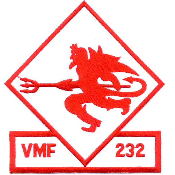VMF-232 Fighter Squadron Two Three Two Patch