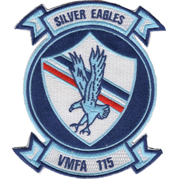 VMFA-115 Marine Corps Fighter Attack Squadron Silver Eagles Patch