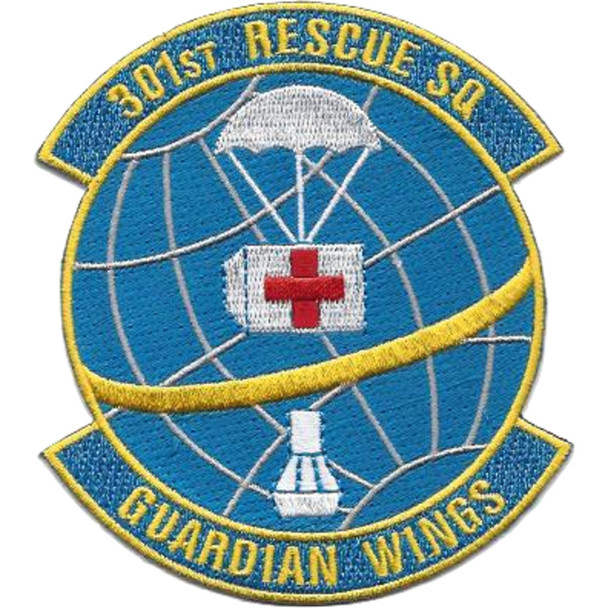 301st Rescue Squadron Patch