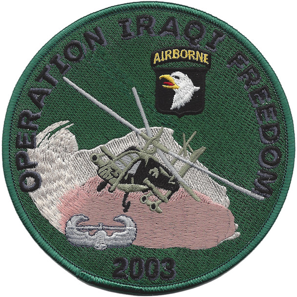 101st Airborne Division 2003 Patch