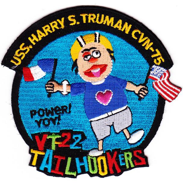CVN-75 USS Harry S Truman VT22 Tailhookers Patch