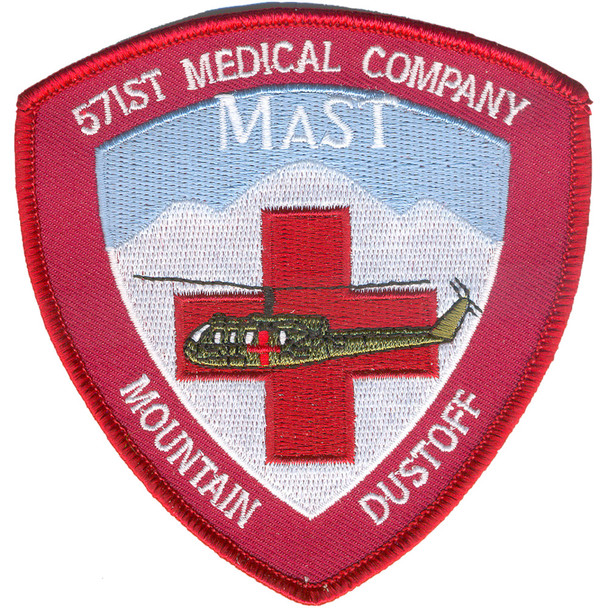 571st Aviation Medical Company Air Ambulance MAST Patch