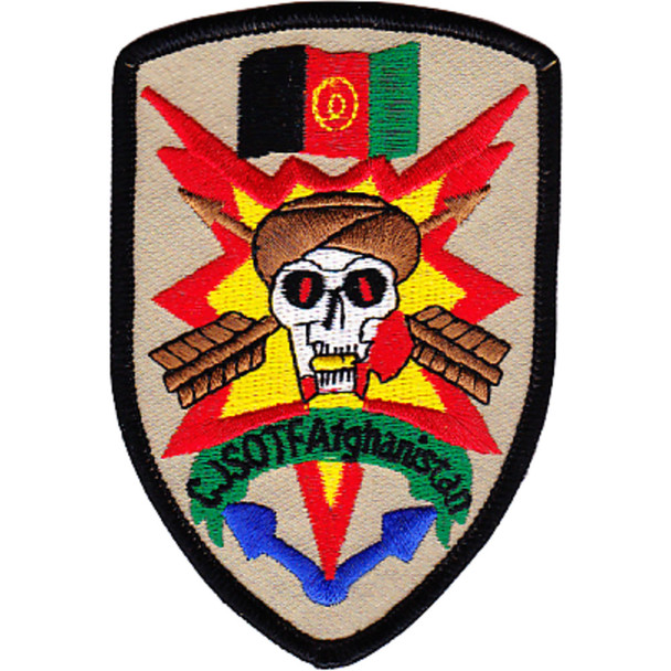 Combined Joint Special Operations Task Force Afghanistan Shield Patch