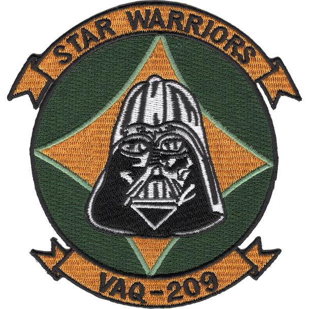 VAQ-209 Carrier Tactical Electronics Warfare Squadron Patch