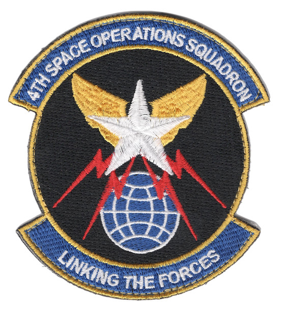 4th Space Operations Squadron Patch Hook And Loop