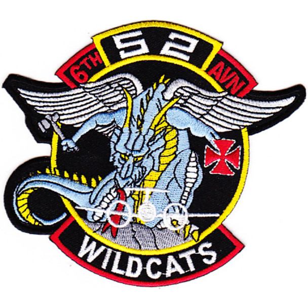6th Battalion 52nd Aviation Regiment Company A Patch
