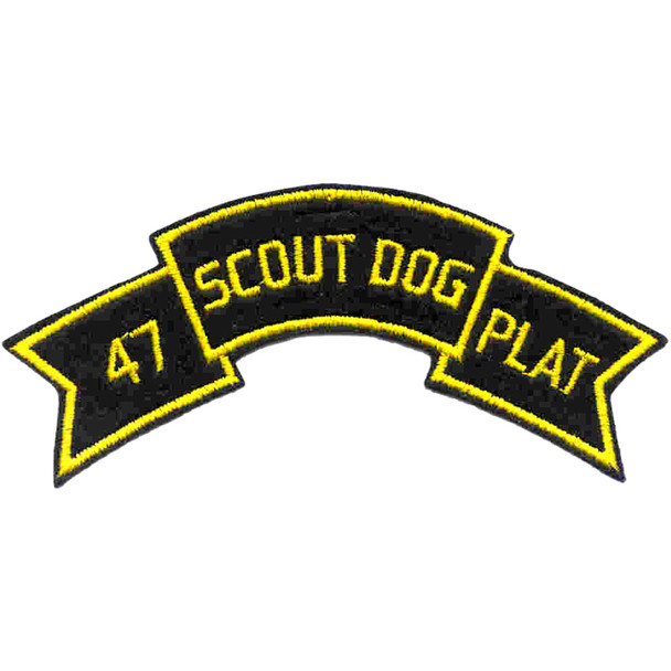 47th Infantry Scout Dog Platoon Patch