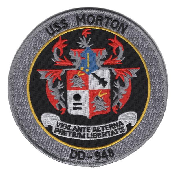 DD-948 USS Morton Ship Patch