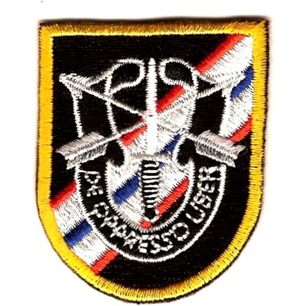 46th Special Forces Group Flash with Crest Patch