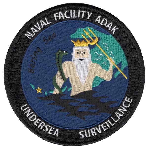 Naval Facility Adak, Alaska - Undersea Surveillance Patch