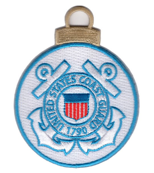 United States Coast Guard 1790 Christmas Tree Ornament