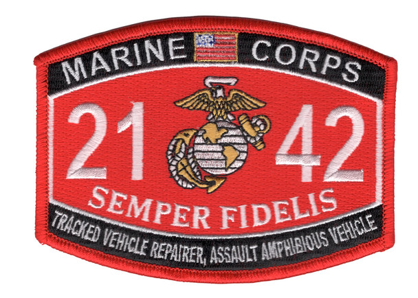 2142 Tracked Vehicle Repairer, Assault Amphibious Vehicle
