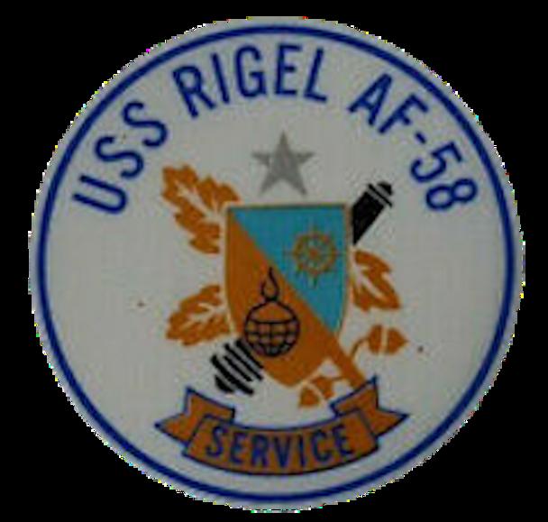 USS Rigel AF-58 Patch