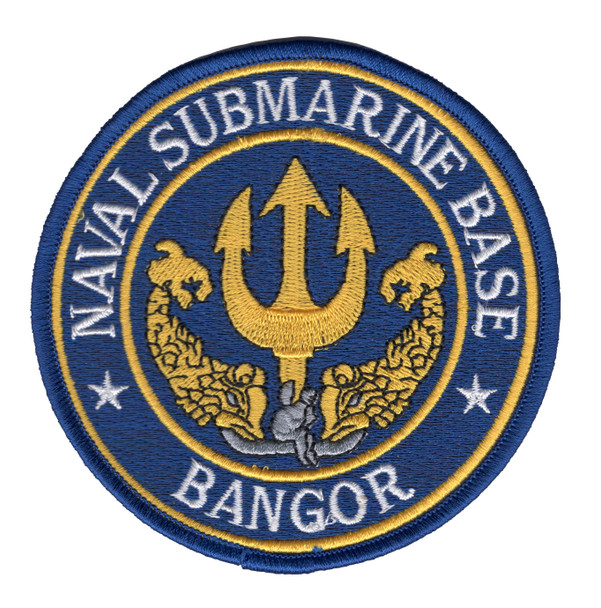 Naval Submarine Base Bangor Washington WA Patch