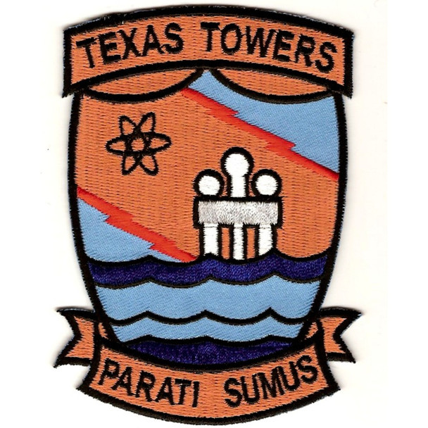 4604th Support Squadron Texas Tower 4 Patch