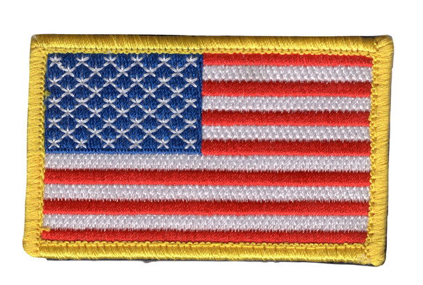 United States Flag Patch Hook and Loop - full