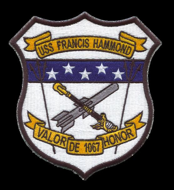 USS Hammond DE-1067 - Full