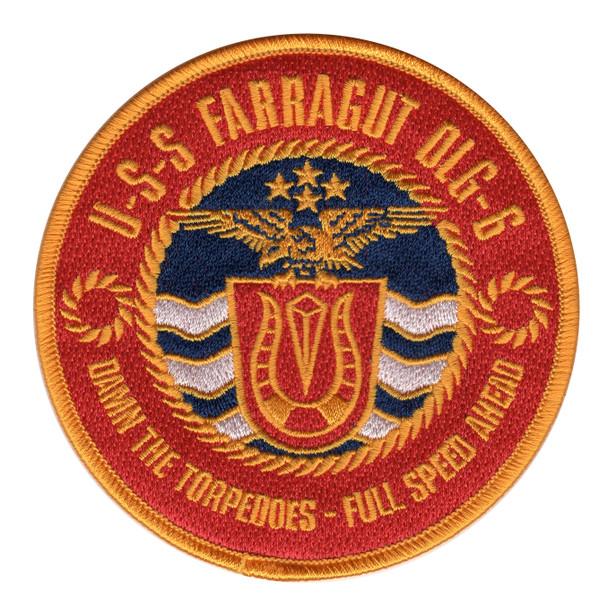 USS Farragut DLG-6 Patch