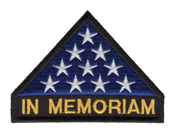 In Memoriam U.S Flag Patch