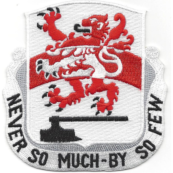 458th Engineer Battalion Patch