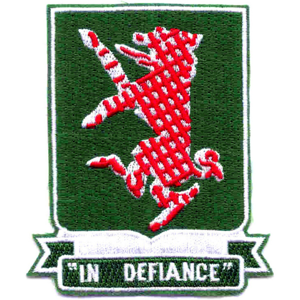 44th Airborne Tank Battalion Patch