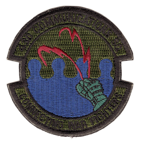 43rd Communications Squadron Patch Hook And Loop
