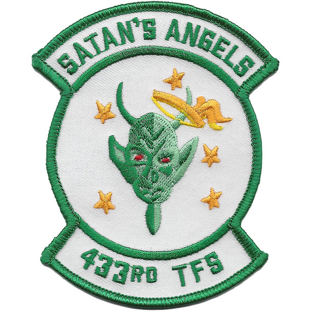 433rd Tactical Fighter Squadron Patch