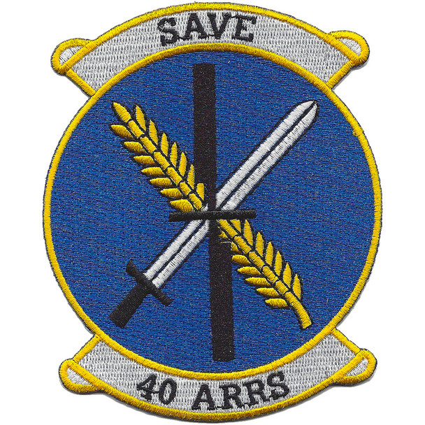 40th Aerospace Rescue & Recovery squadron Patch