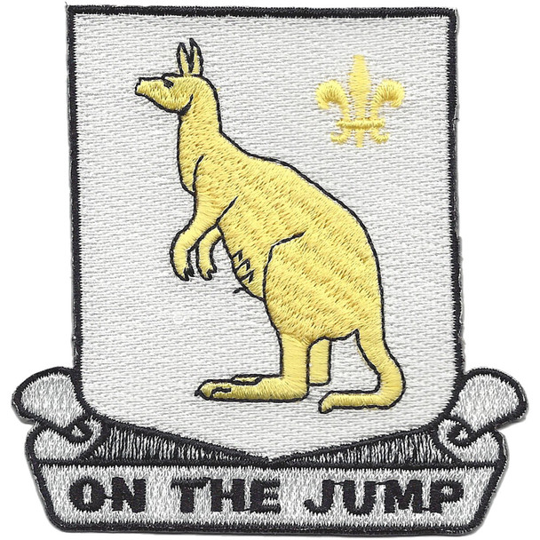 407th Quartermaster Battalion Patch