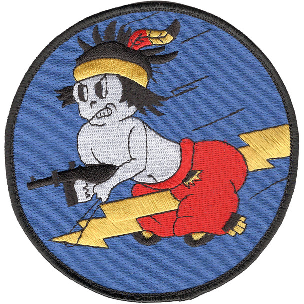 404th Fighter Squadron Large Patch Hook And Loop
