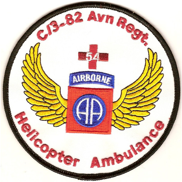 3rd Squadron 82nd Airborne Aviation Regiment C Co Patch