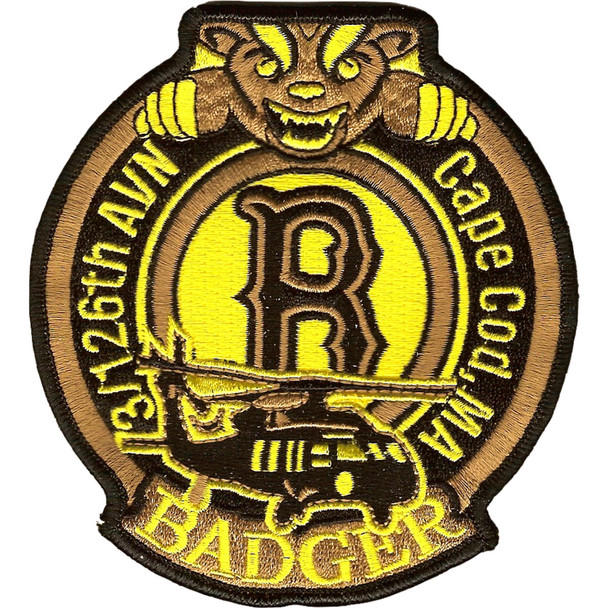 3rd Squadron 126th Aviation Regiment Badger Patch