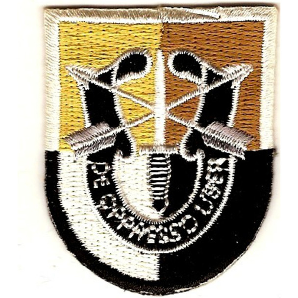 3rd Special Forces Group Flash Patch With Crest