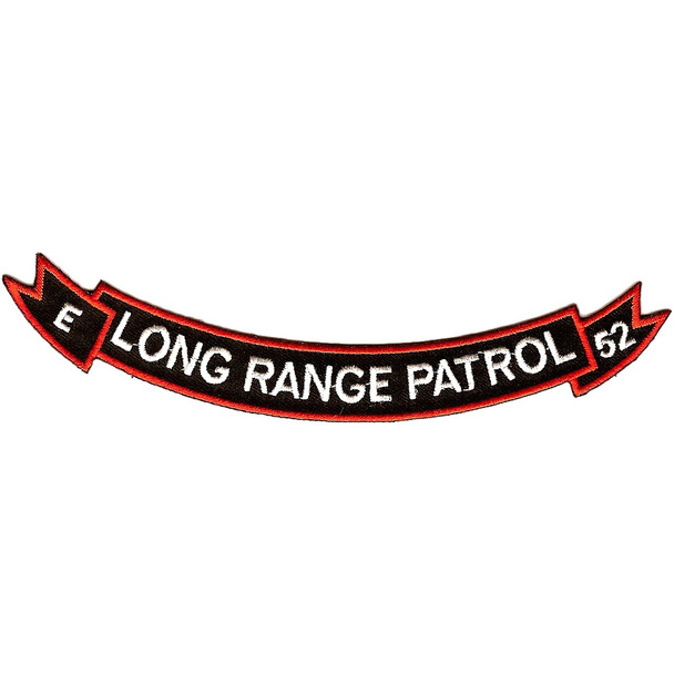 3rd Company 52nd Infantry Long Range Patrol Patch