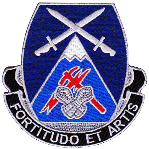 3rd Brigade 10th Mountain Division Special Troop Battalion Patch STB-18