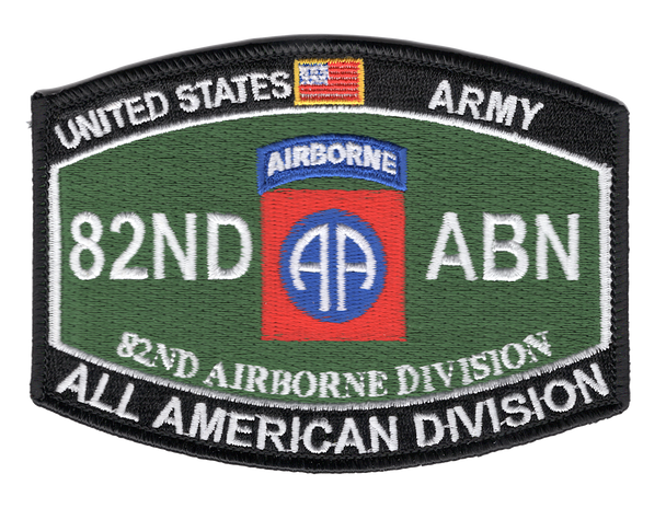 82nd Airborne Division MOS Patch